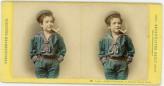 Child Smoking Pipe