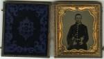 Confederate Civil War Soldier Tintype