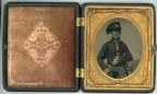 Tinted Civil War Cavalryman