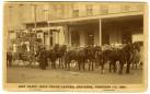 Last Black Hills Coach Leaving Cheyenne Wyoming 1887 by Kirland